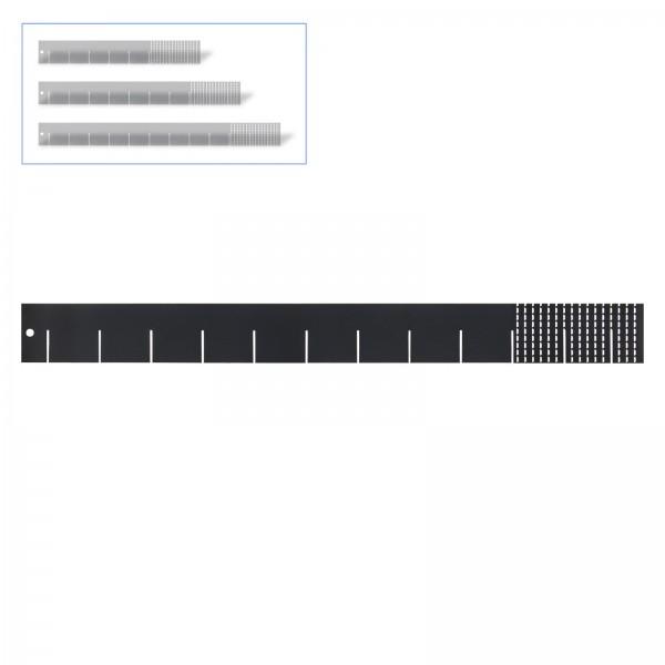 Universaleinteiler 60 cm RAL 7016