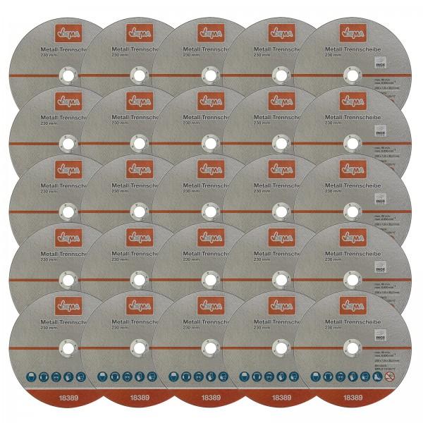 Metall Trennscheiben Set 25er 230 mm / 1,9
