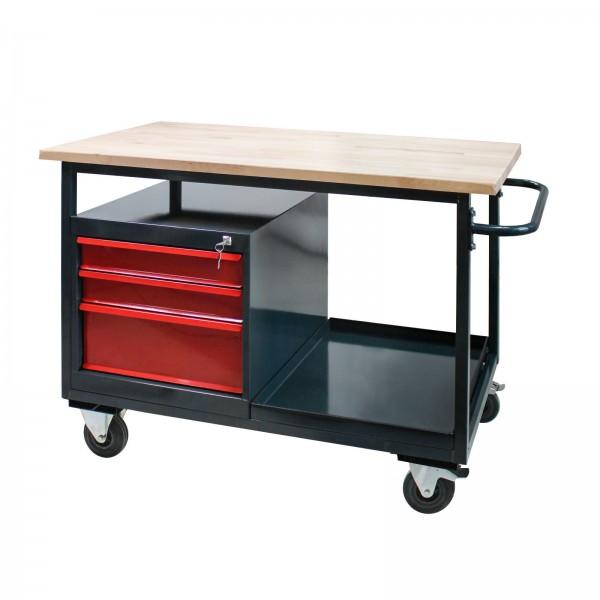 """Tischwagen """"Eko2"""" mit 3 Schubladen"""