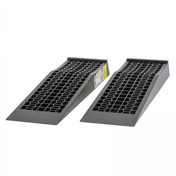 Kunststoff Auffahrrampen Auffahrrampe Rampe Satz 2-tlg. 7 cm flach 5 t gesamt