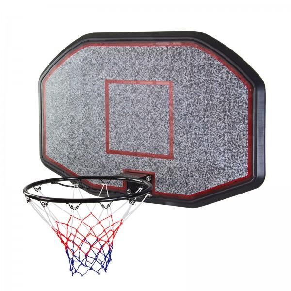 Basketballbrett mit Ring und Netz XXL