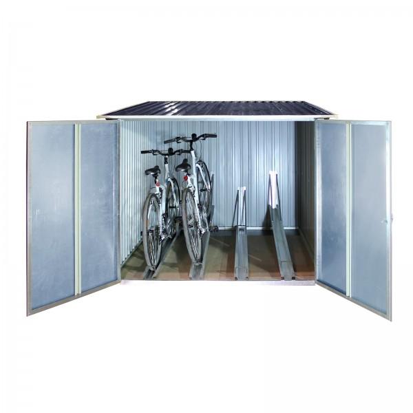 Fahrradgarage 4 m² für 4 Fahrräder