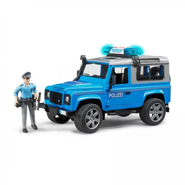 Land Rover Defender Station Wagon Polizeifahrzeug