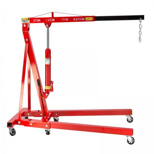 Werkstattkran / Motorheber bis 2000 kg klappbar