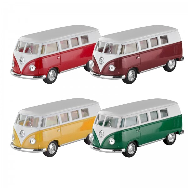 Die Cast pull back VW Classical Bus 1962