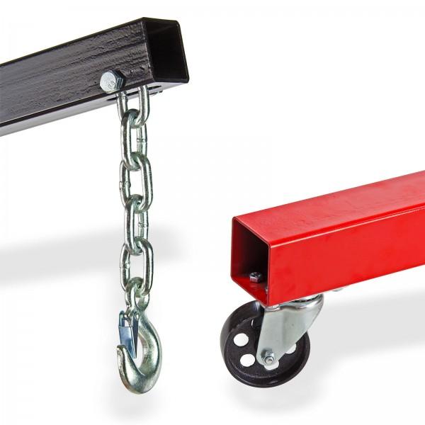 Werkstattkran / Motorheber bis 1000 kg klappbar