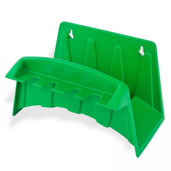Wandschlauchhalter grün