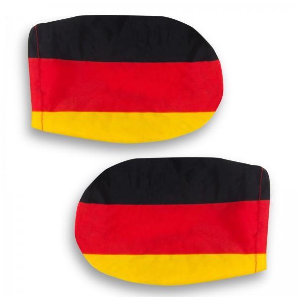 Autospiegelüberzug Deutschland 2er Set