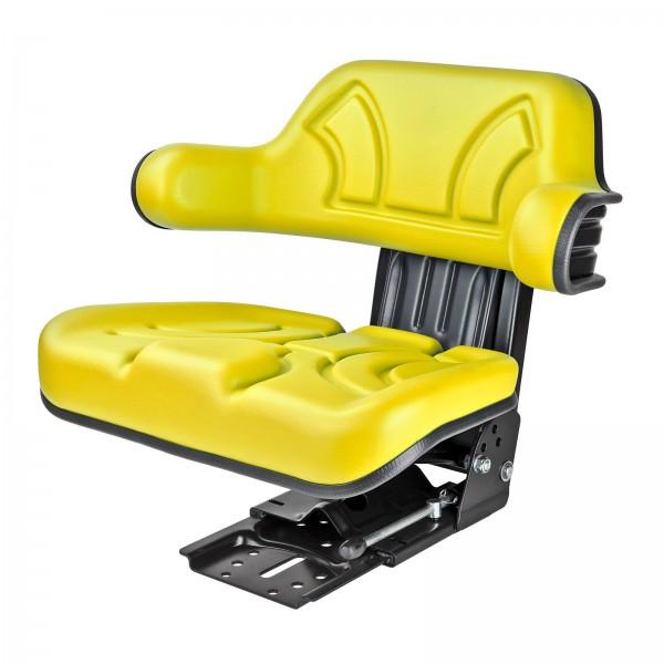 Traktorsitz STAR 10 gelb mit Armlehne