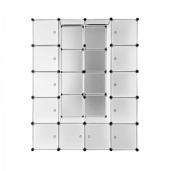Regalsystem Wien 20 Boxen weiß