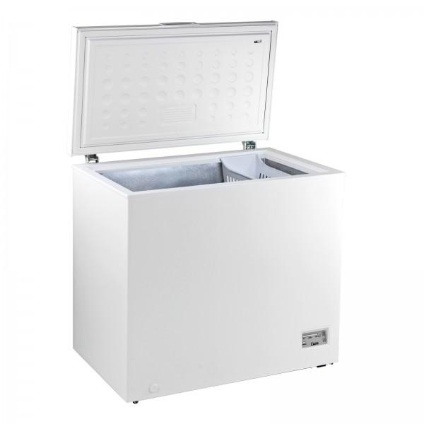Gefriertruhe Tiefkühltruhe Kühltruhe mit Gefrierkorb DGT 200D weiß