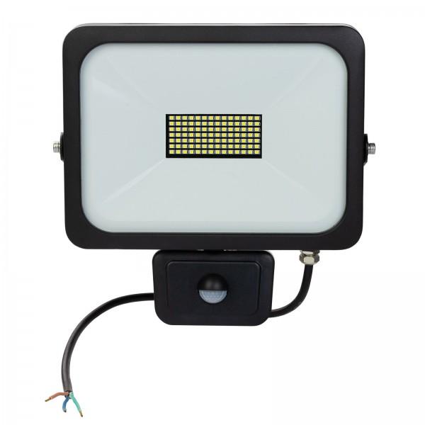 LED-Strahler Slim 50W Sensor