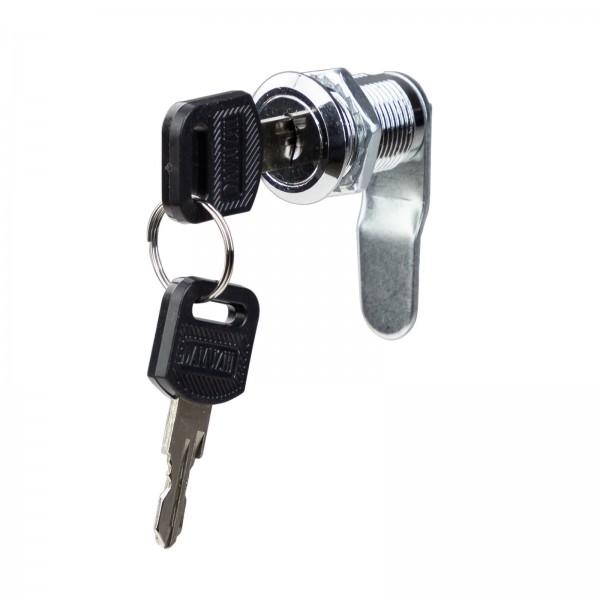 Zylinderschloss 20 mm mit 2 Schlüsseln