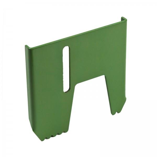 Haltekralle links 120x120x10 mm verstellbar für Holzspalter Art. 61963 + 61965