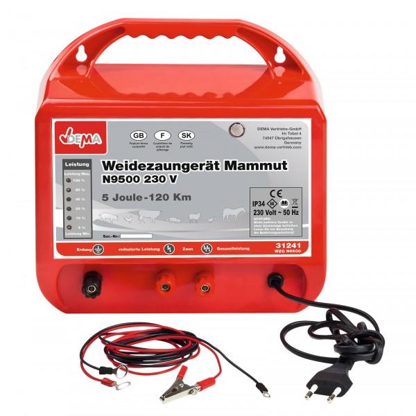 Weidezaungerät Mammut N9500 230V