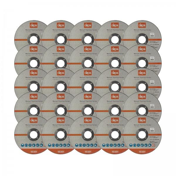 Metall Trennscheiben Set 25er 115 mm / 1,0