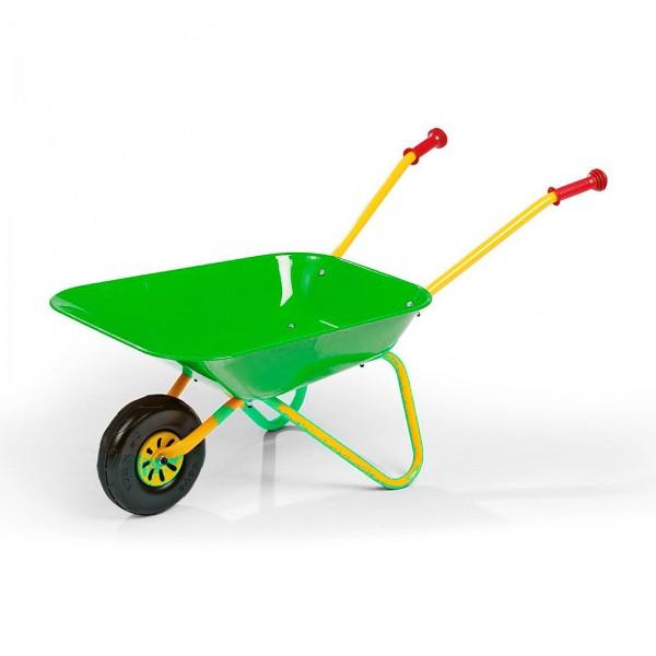 Kinderschubkarre Metall grün