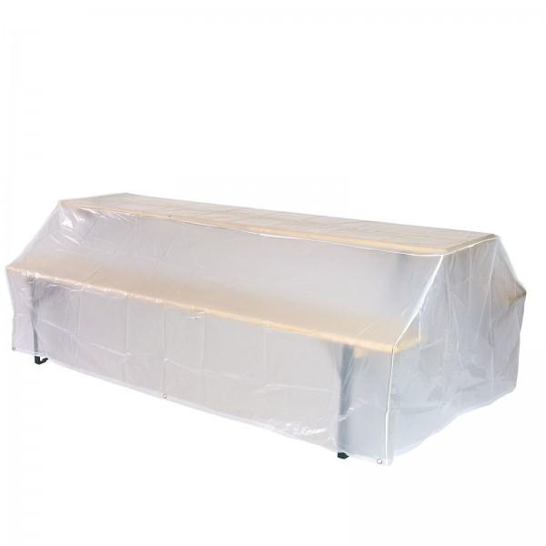 Schutzhülle Abdeckung Möbelschutzhülle Hülle für Bierzeltgarnitur 221x121x75 cm