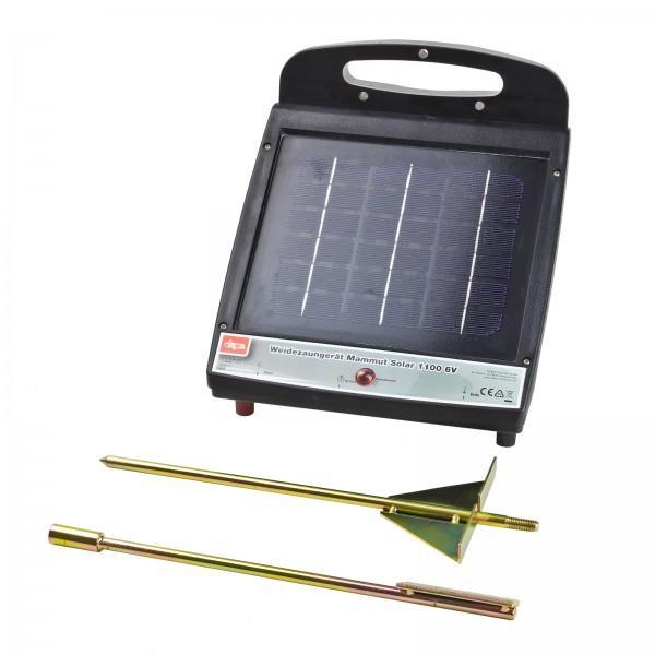 Weidezaungerät Mammut Solar 1100 6V