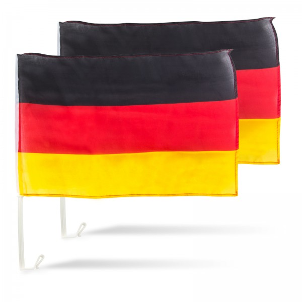 Autoflagge Deutschland 2er Set