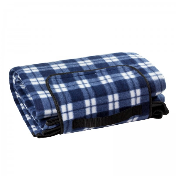 Picknickdecke blau 190x130 cm