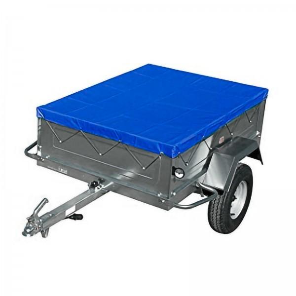Anhängerplane mit Gummiseil 257x134 cm